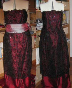 Work in progress: 1920s dress by Friederike Kipkeew