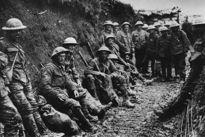 Royal Irish Rifles, Somme July 1916 (Source:  Imperial War Museum)