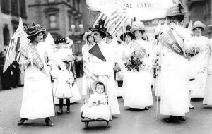 Suffragettes in New York