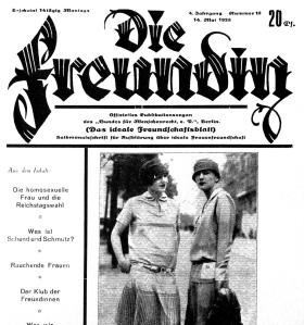 Die Freundin, 1928