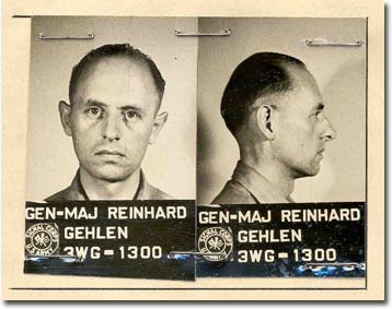 Reinhard Gehlen as prisoner of war, May or June 1945
