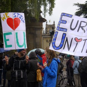 """Oxford Stays"" – Protest against Brexit, 28 June 2016"